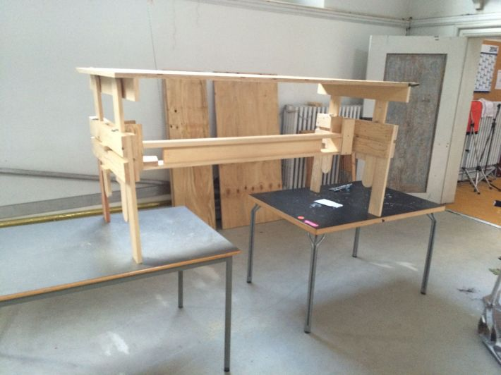 Enzo Mari drawing table
