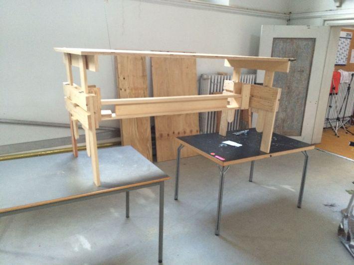 Enzo Mari drawing table