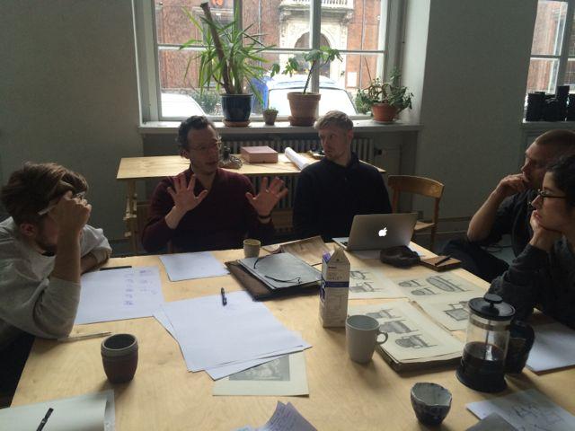 Luca Frei chair workshop
