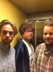 Owen, Albin and Vebjørn