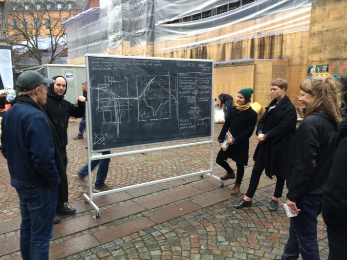 Courtyard workshop