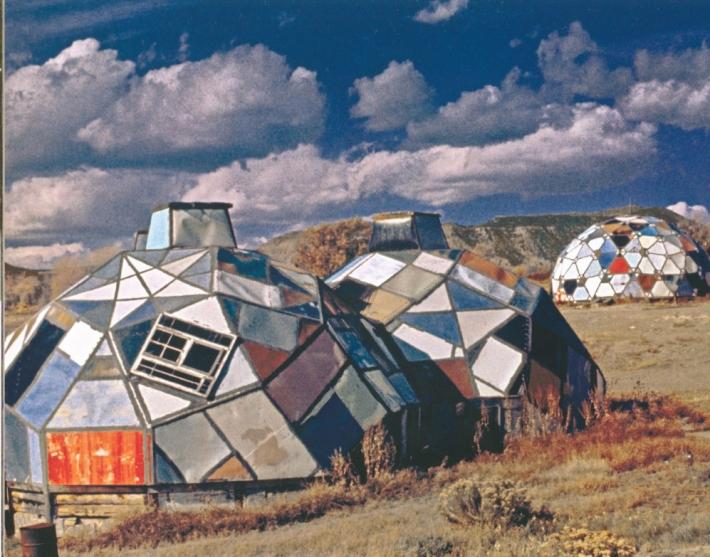 Drop City Domes Exterior