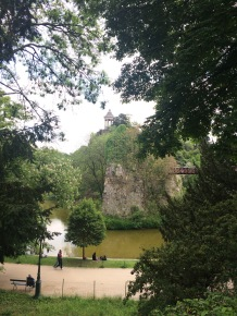 Buttes Chaumont mountain