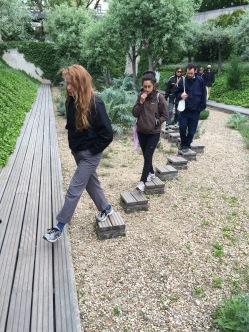 Parc Citroen silver garden