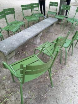 Seats Tuileries